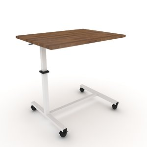 table bed medical 3D model