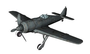 wwii fw-190a 3D model
