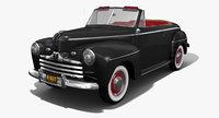 convertible 1946 biff 3D