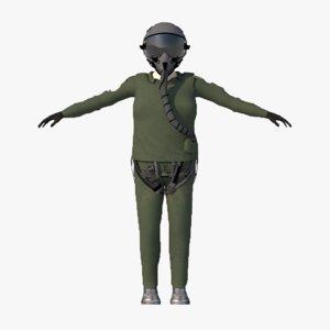 3D turkish pilot