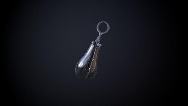 3D pear anguish