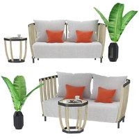 swing coffee table 3D model