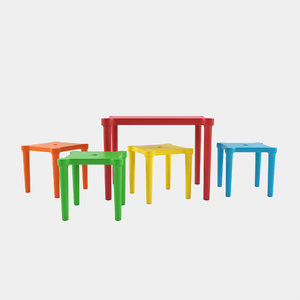 3D table stools utter ikea model