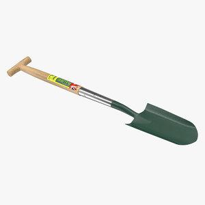 rabbiting spade 3D