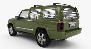 3D jeep commander