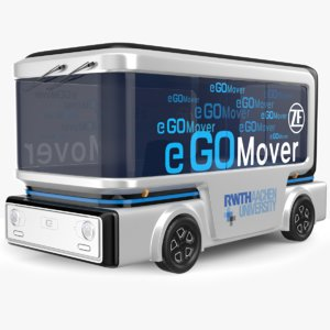 mover bus electric 3D