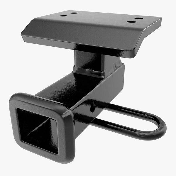 step bumper receiver 3D model