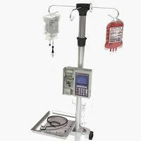 3D stand syringe