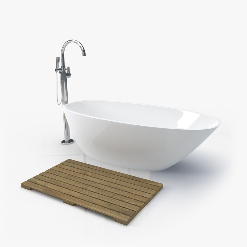 bathtub crane 3D model