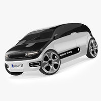 concept apple car 3D