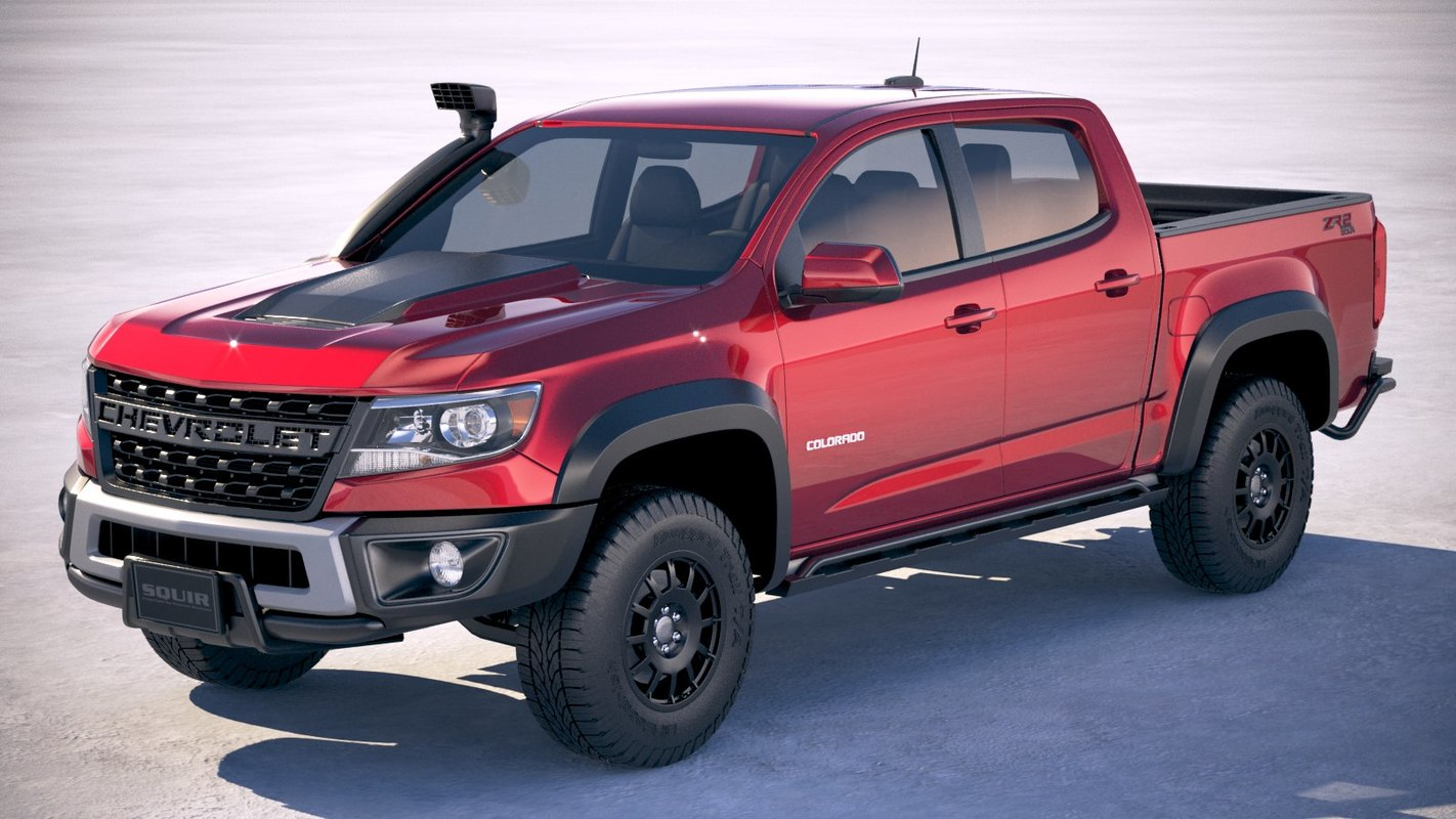 3D chevrolet colorado zr2