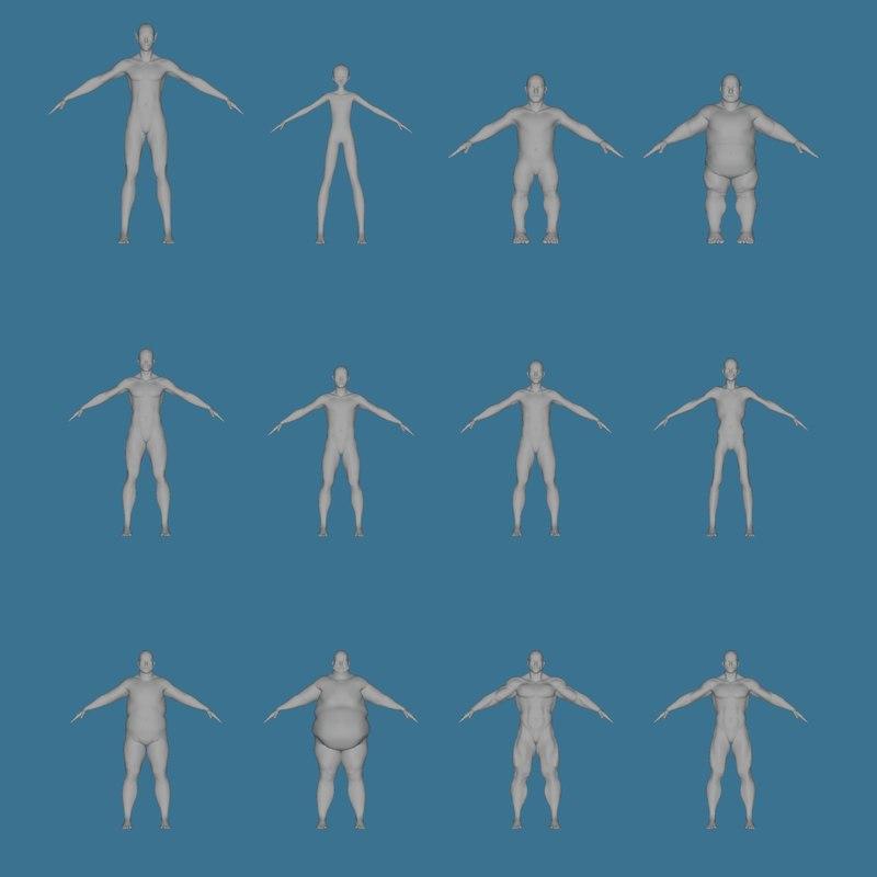 mesh body model