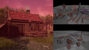 3D pack build medieval fantasy