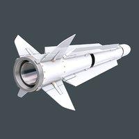 standard missile sm-2er block 3D