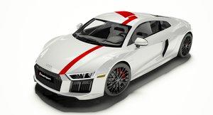 3D model r8 coupe 2018