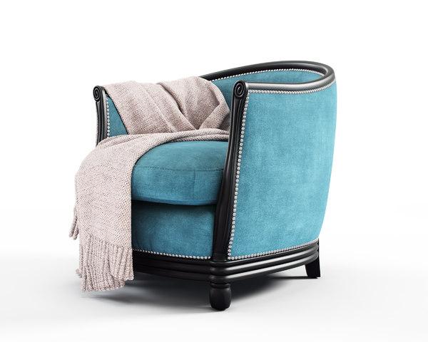 3D hg deco tub chair