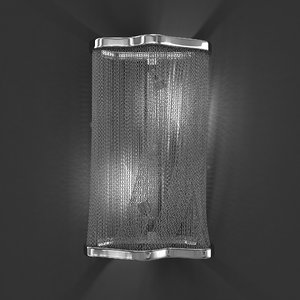 3D wall light atlantis model