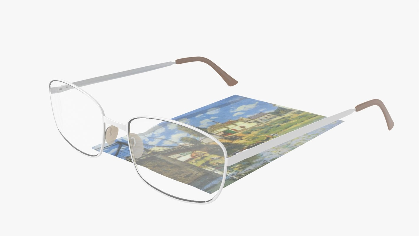 3D glasses spectacles eyeglasses