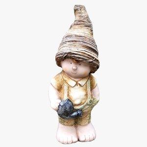 garden gnome 3D