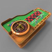 roulette 3D model