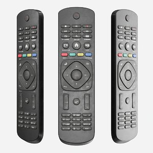 3D dirty tv remote control