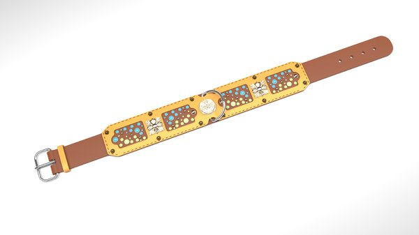 antique belt 3D model
