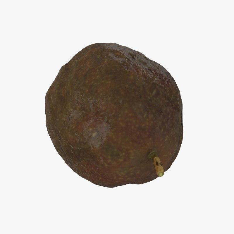3D passion fruit