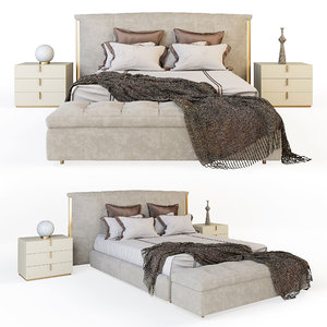 flou amal bed 3D