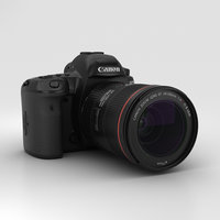 3D canon 5d mark