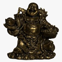 budai laughing buddha 3D model
