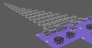 3D model prolyte trusses h40v