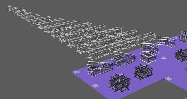 3D model prolyte trusses h40v