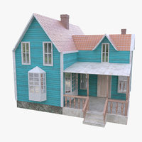 house home architecture 3D model