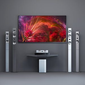 home theater samsung ht-f9750w 3D model