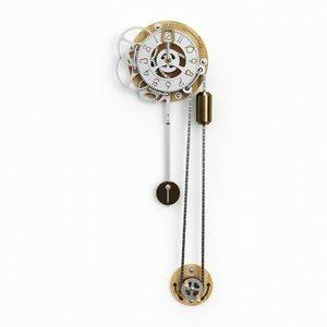 3D steampunk clockwork