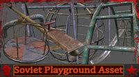 soviet playground 3D model