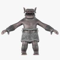 3D goblin stylized