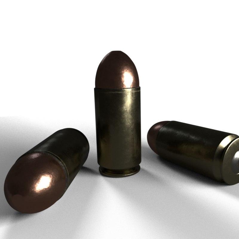 9mm guns 3D