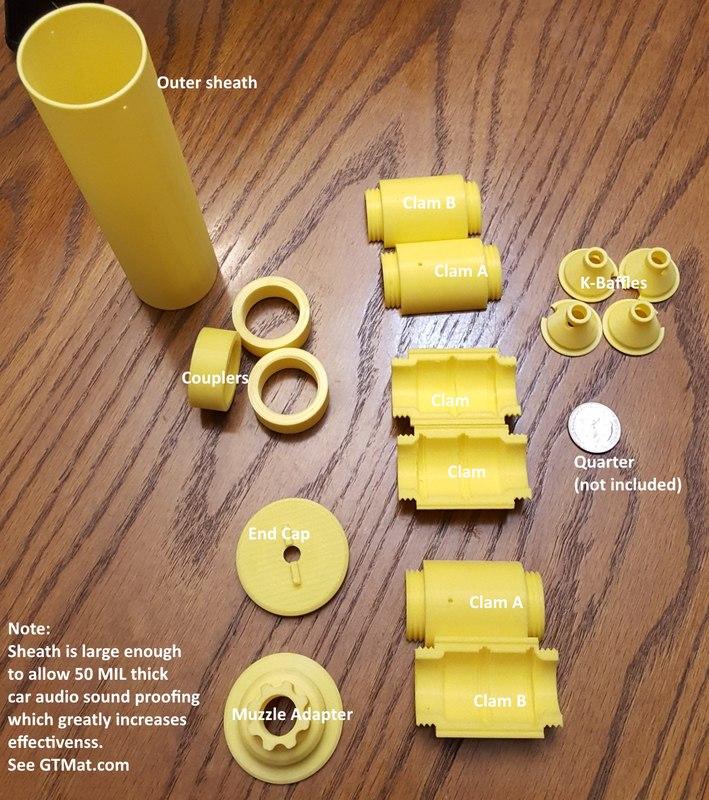 print silencer 3D