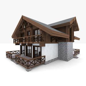 house chalet model