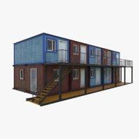 portable building 3D