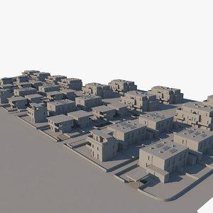 residental area model