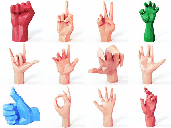 hands set model