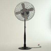 3D fan housewares model