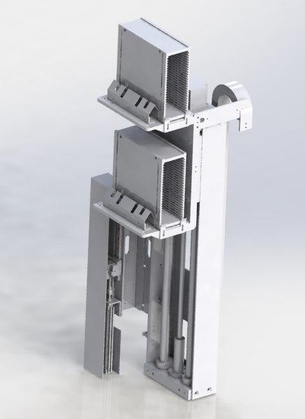 cylinder drive mechanism 3D model