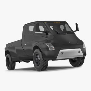 3D tesla pickup electric concept