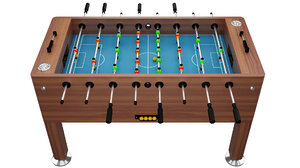 3D football fussball table sport ball