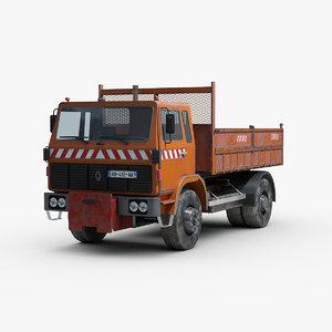 3D renault g260 truck model