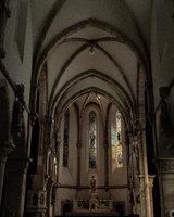 church interior model