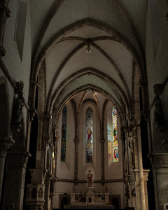 church interior model
